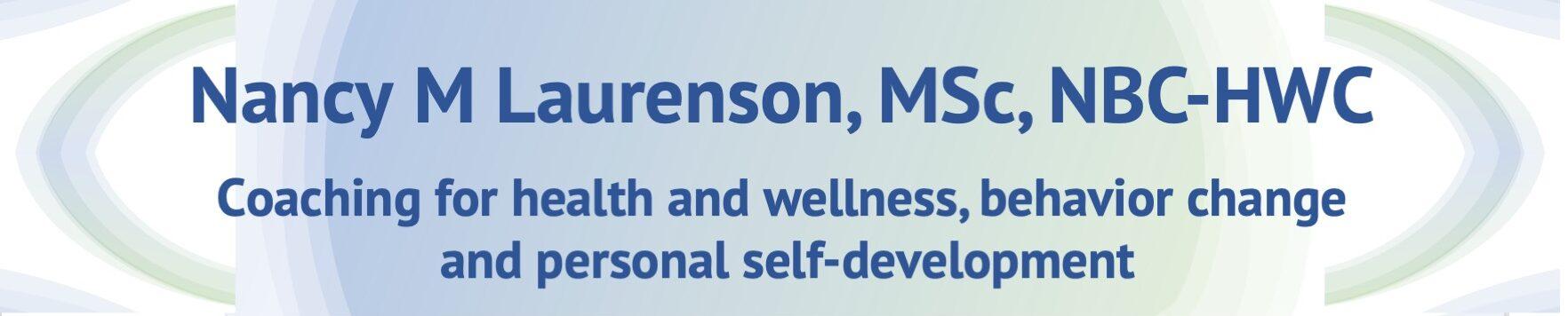 Nancy Laurenson – Health Coaching
